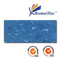 Hospital Use Anti-bacterial Bomeiflor Non-directional Homogeneous 2mm thickness pvc flooring