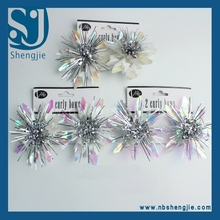 Trade Assurance Plastic Gift Flower Fashion good looking backdrop flower for christmas gift