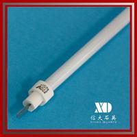 Spare part of infrared quartz heater/ replaceable quartz lamp/ quartz tube
