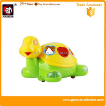 Small sea turtle learning machine with music and light story teller kids toy