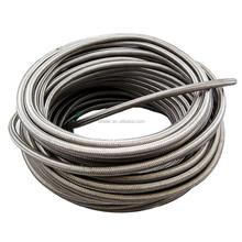 Best Braided Black Stainless Steel flexible Hose for fuel oil, AN-4 -4AN -6 AN AN6 -8AN AN8 8-AN AN10 10-AN hose