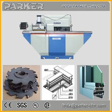 aluminum door making machines / milling machine
