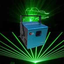 Portable outdoor equipment green beam light stage laser light