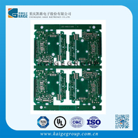 Green 1/2-4oz FR-4 2-layer Medical Care Device/Equipment PCB manufacture,viscosity measuring devices