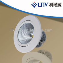Adjustable 20w cob led downlighting shenzhen