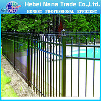 Architectural Curved Aluminum Decorative Metal Garden Edging Fencing