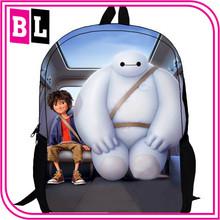 Europe and America Hot Selling Big Hero 6 Boys School Bag CI-195