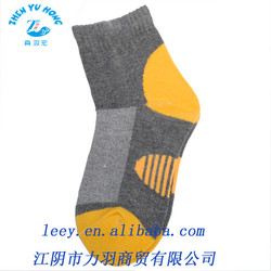 Sports Ankle Cotton Socks, Top Ribbed Elastic Type, Flat Dryfit Soft Socks
