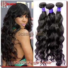 7A grade 100% wholesale indian human hair, raw unprocessed virgin indian hair extensions