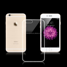 Hot china products slim mobile phone cases transparent TPU cover case for iphone 6 plus 5.5 inch
