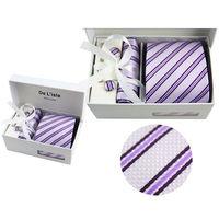Tie+Hanky+Cufflink Gift for Christmas Birthday Business gift Men's Tie Set