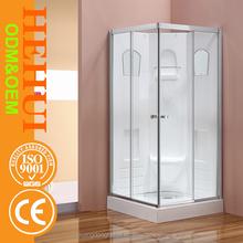 2RC-K448 salle de douche porte coulissante roue rouleau et italien vapeur cabine de douche pour baignoire de douche portes