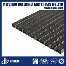 Best brand Aluminium alloy Recessed decorative commercial walk off mats