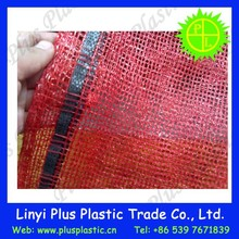 plastic mesh net bag making raw material plastic mesh bags for packing vegetable