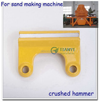 superior quality crushing hammer with cemented carbide tips