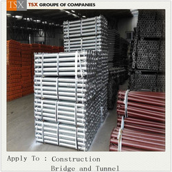Tianjin TSX Q235/STK400 acrow adjustable shoring and telescopic props