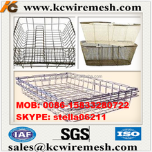 Factory!!! Cheap!!!!! KANGCHEN metal basket/wire mesh washing basket/ stainless steel laundry basket Inside the container
