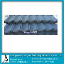 0.4mm Roof Corrugated Metal Tiles Factory Stone Chip Steel Roof Sheets