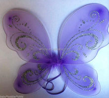 China factory handmade costume fairy wings,butterfly wings,carnival wings WG4011
