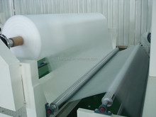 Hydrophilic Soft Hot Air Through Non woven for Sanitary Napkin/Diapers' absorbent core and filiter core Wrapping