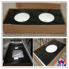 Various cut-to-size countertop vanity tops/Customized size vanity top/prefab granite vanity top