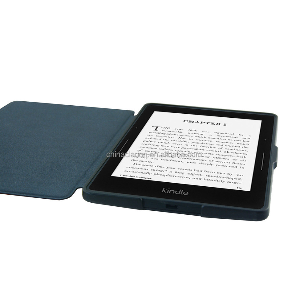 Leather case for kindle voyage