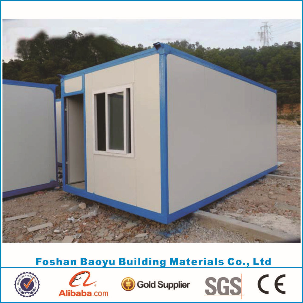 China modern living container house prefabricated low cost for Maison low cost container