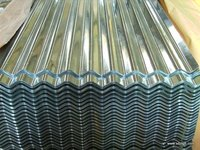 High quality corrugated steel roofing tile