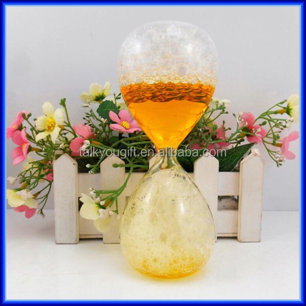 vente chaude transparent liquide bulle sablier pour. Black Bedroom Furniture Sets. Home Design Ideas
