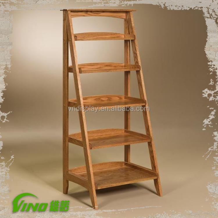 Wooden Ladder Wood Ladder Shelf Decoration Ladder - Buy Folding Wooden ...