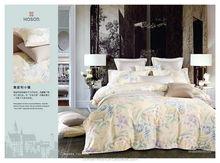 bright color floral printed bridal bed comforter sets