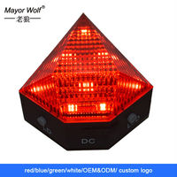 2015 new products blue light bicycle bike warning laser beam rear tail light