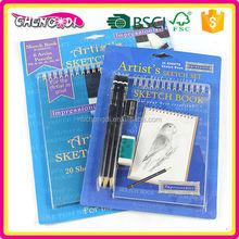 Fashion Item kids erasable drawing board, kids drawing pad, kids activity book