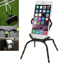 Hot Sale Spider Shape Design Soft Silicone Grip Holder for iPhone 6