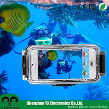 40M pouch housing diving photo video phone case for iphone 6 waterproof case