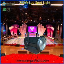 VanGaa High Power LED 200W Spot Focalize Studio Light with LED Video Projector Scheme