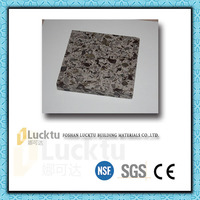 Artificial quartz stone solid surface for bathroom wall decoration