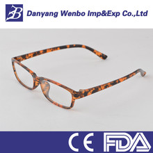 High quality japanese trendy wide temple metal optical frame