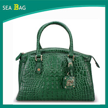 Crocodile leather handbag Ladies 2015