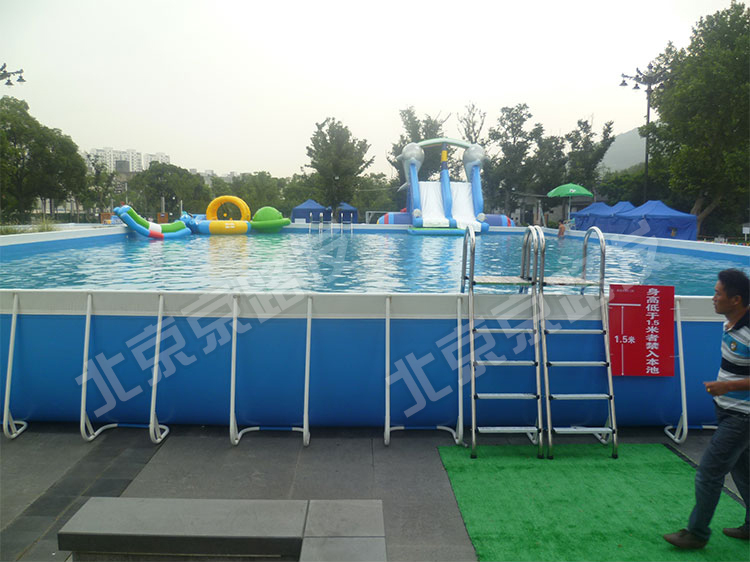 2015 bright color giant frame pool commercial use intex for Giant swimming pool