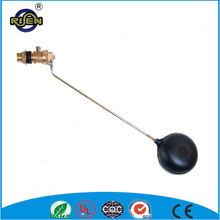 China supplier Water tank brass float valve with plastic ball best selling