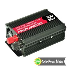 Manufucturer 300W 24V 110v/220V Modified Sine Wave Inverter Hybrid Solar Motor Car Inverter Without Battery
