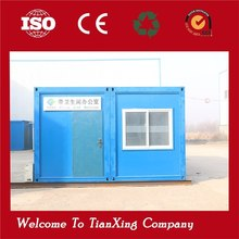 nice flatpack prefab nude packing/high quality/low cost cheap mobile house prefab office