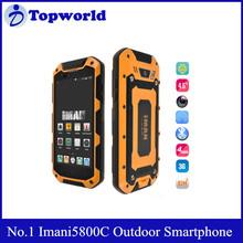 "No.1 Imani5800C Waterproof Shockproof 4.7"" HD Screen MTK6582 Quad Core Phone with 1GB RAM 8G ROM Smart Mobile Phone"