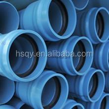 Tubo de pvc para a irrigação / tubo de esgoto pvc / pvc tubo de drenagem