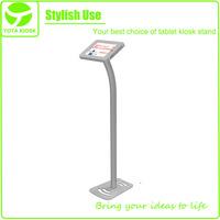 Yota portable aluminum iPad floor stand
