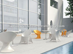 Latest used coffee shop LED table ,chairs ,and side table for club used table and bar chair used for sale LGL60-9131