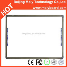 "Choosing MolyBoard is wise choice, 102"" MolyBoard infrared electronic interactive white board with quality first, service most"