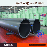 1.0 MPa sdr17 PE pipes for Sewerage Drainage and Civil Applications