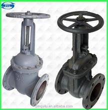 rising stem flanged gate valve industrial better than yuanda valve